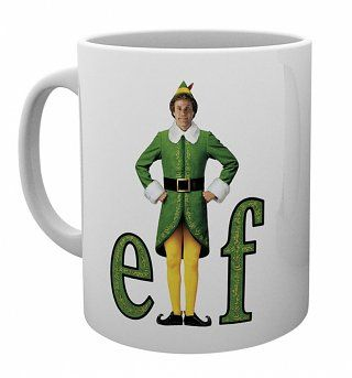 Elf Movie Poster Christmas Mug