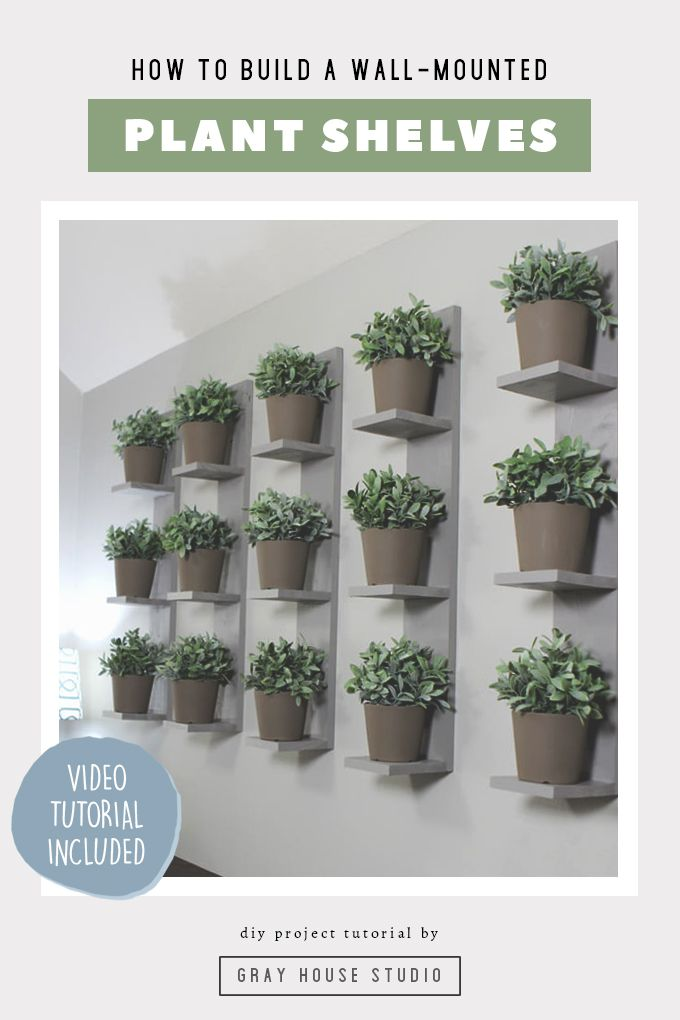 Wall Mounted Plant Shelves Diy Indoor Plant Wall Indoor Plant Shelves Wall Planters Indoor