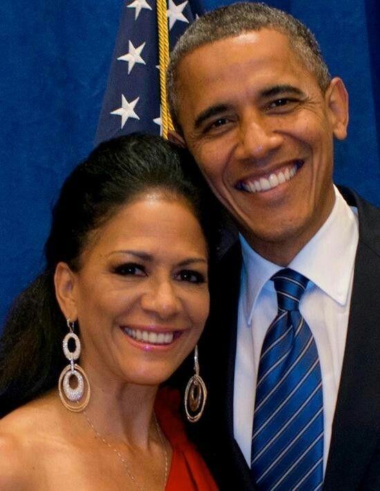 Sheila E and President Obama