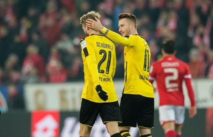 Marco Reus und Andre Schürrle