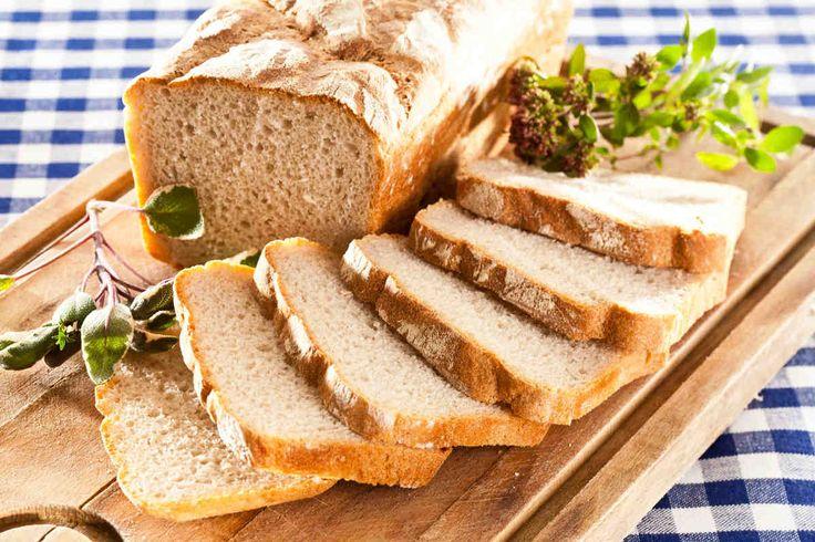 Chleb domowy pszenno-żytni #smacznastrona #przepisytesco #chleb #domowy #przenno #żytni #mniam