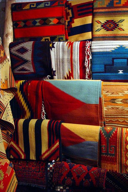 Native American Rugs by chrisjfry, via Flickr,  Check them out.  They are not the ones that everyone and his brother tries to tell you are A. I. blankets that are from Mexico.  These are awesome and the real thing...  CTH