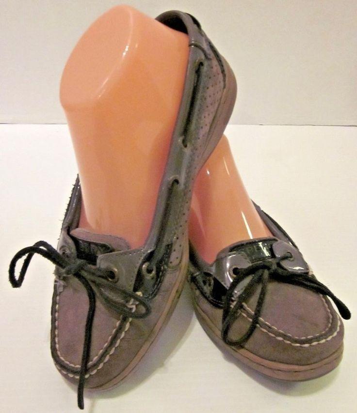 Sperry de los hombres, deslizador del holgaz¨¢n de oro en los zapatos NEGRO 7.5 M