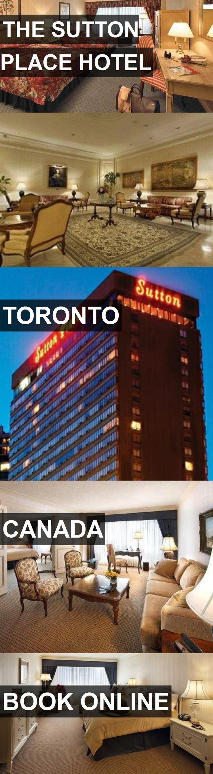 THE SUTTON PLACE HOTEL in Toronto, Canada. For more information, photos, reviews and best prices please follow the link. #Canada #Toronto #travel #vacation #hotel
