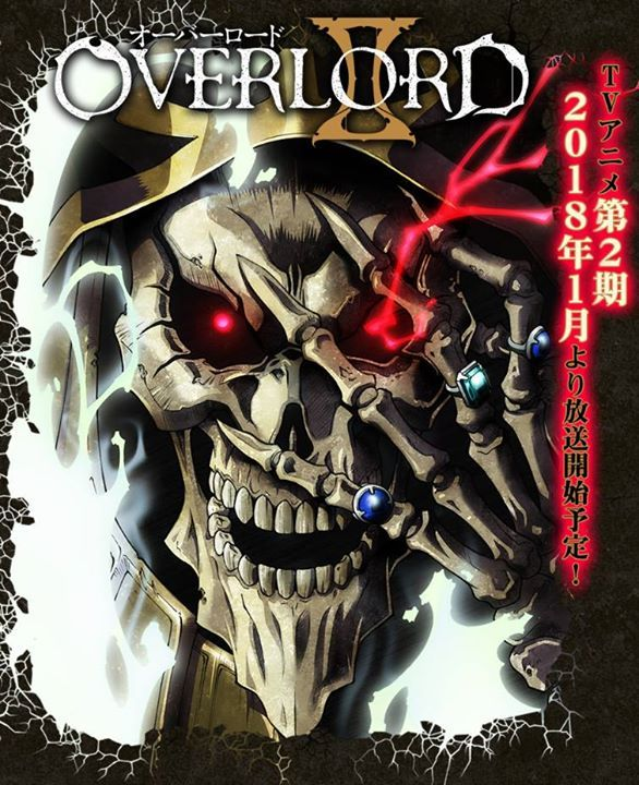 Overlord Season 2 is coming out January 2018! Are you excited that MADHOUSE is bringing Overlord back? #animes #mangas #otakus #cosplays #nakamastore.com #animestuff