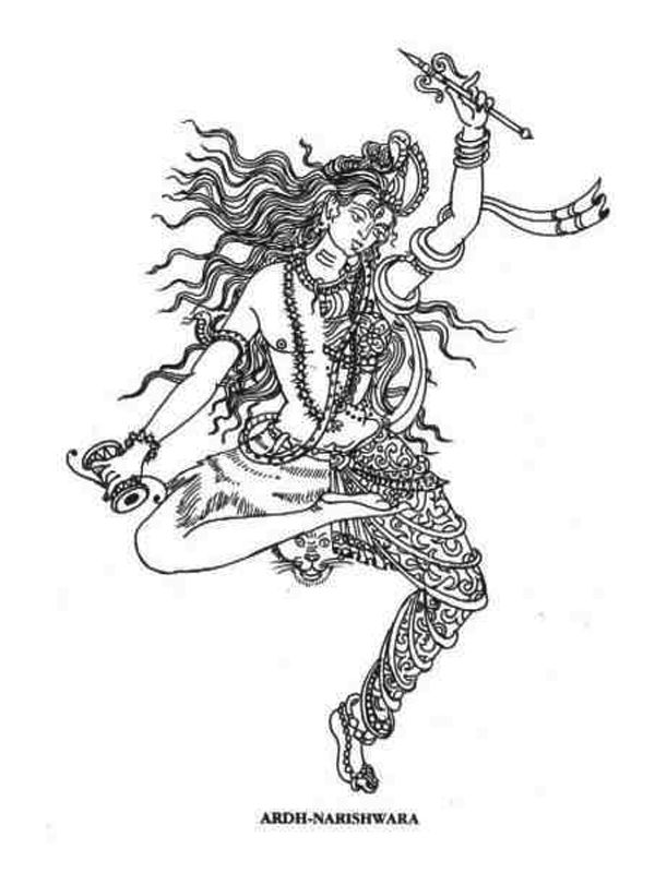 ardhanarishvara, I've wanted this as a tattoo for a while