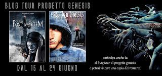Atelier di una Lettrice Compulsiva: Blog Tour Progetto Genesis - Seconda tappa: Cosa h...