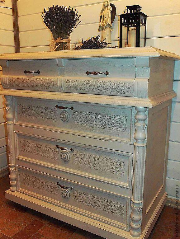 """Купить Комод """"Капучино"""" (реставрация) - комод, мебель для дома, реставрация мебели, авторская мебель"""