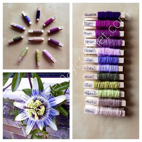 'Passion Flower' colour combination. #stylecraft #crochet #crochetblanket by elsiemaycrochet