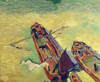 André Derain, Les 2 péniches