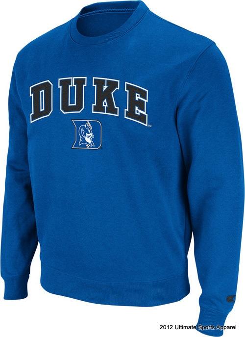 DUKE - college apparel - Crewneck Pullover (T/C) - Fall Apparel