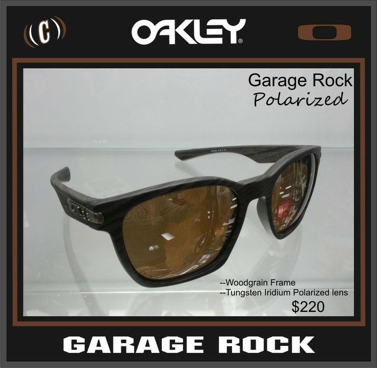 oakley garage rock polarized