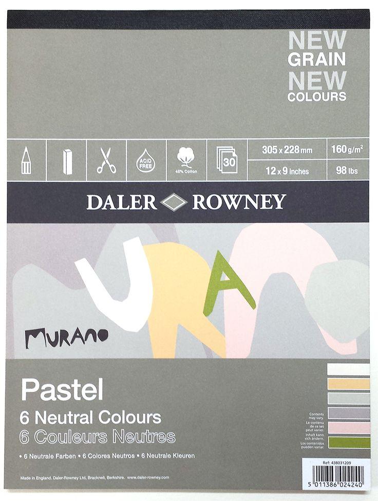 Murano Pastel Paper. Neutar Colors.