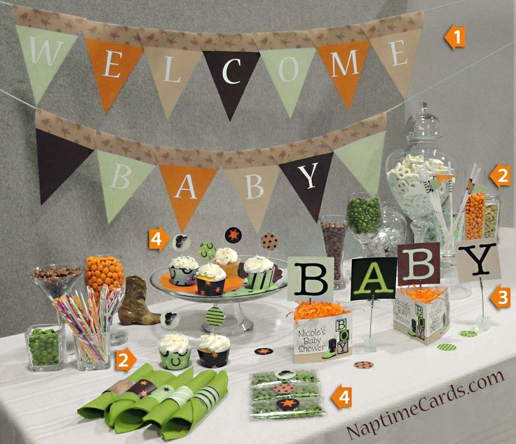 19 Best Camo Baby Shower Images On Pinterest Camo Baby Showers