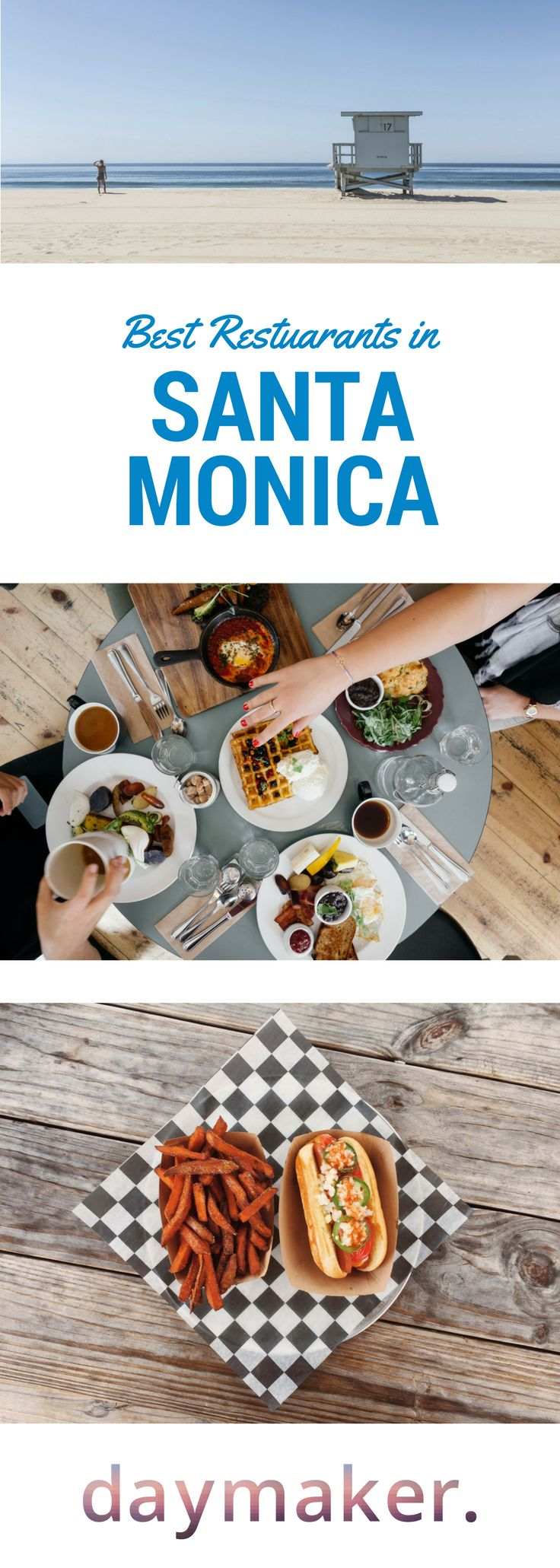 Looking for the best restaurants in Santa Monica? Click on the link to find out the best of where and what to eat in Santa Monica, recommended by Daymaker.