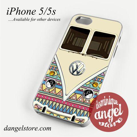 aztec vw retro bus Phone case for iPhone 4/4s/5/5c/5s/6/6 plus