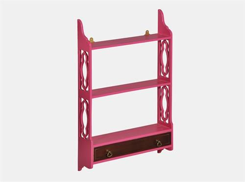 Lounge Hanging Shelf Small - Pink, Measurements 780 x 170 x 900