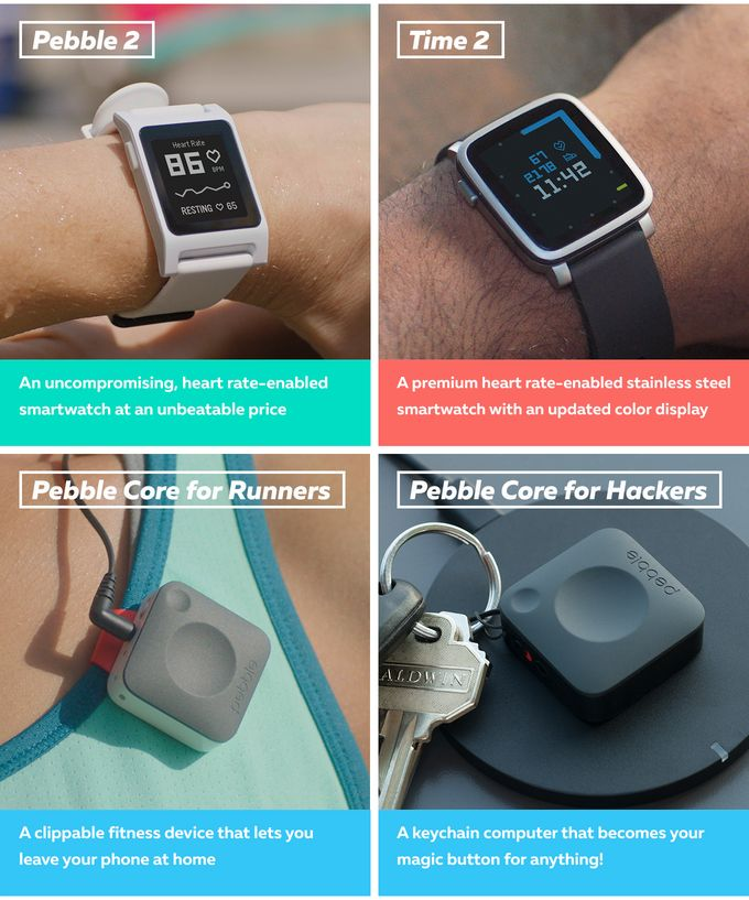 Two new heart-rate enabled smartwatches. Plus an entirely new 3G ultra-wearable. Go for a run and ditch the phone!