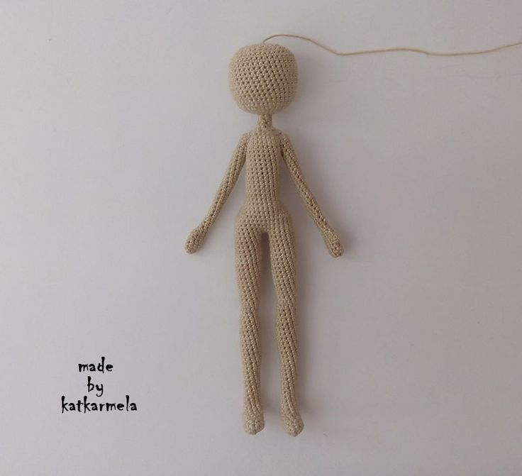 crochet doll knitting