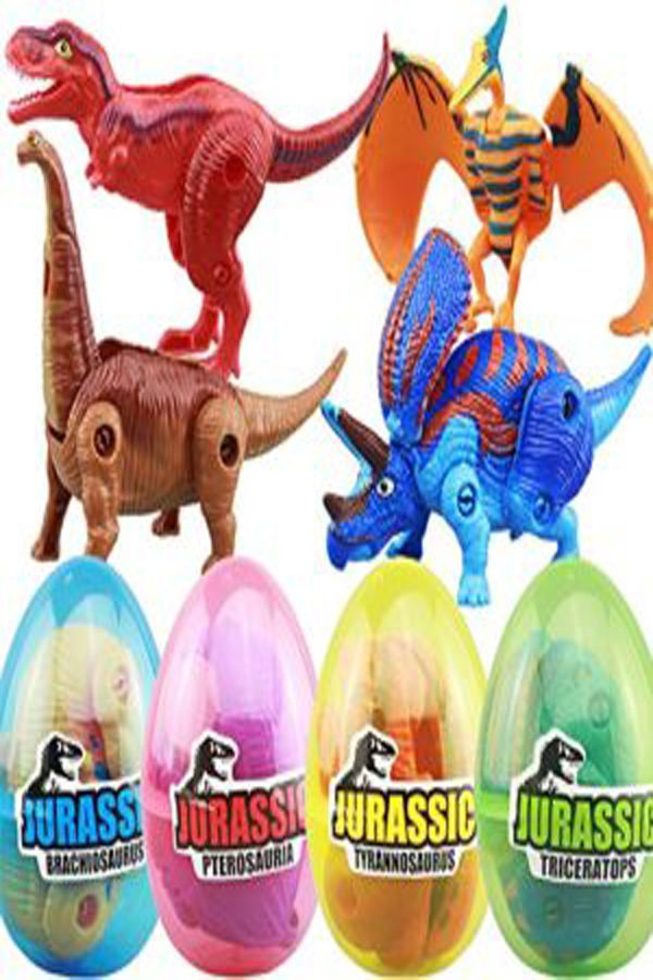 Jurassic World HATCHING EGGS 4 PACK **NEW**