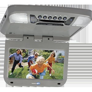AVXMTG9P - 9 inch monitor with built-in DVD player (pewter finish)