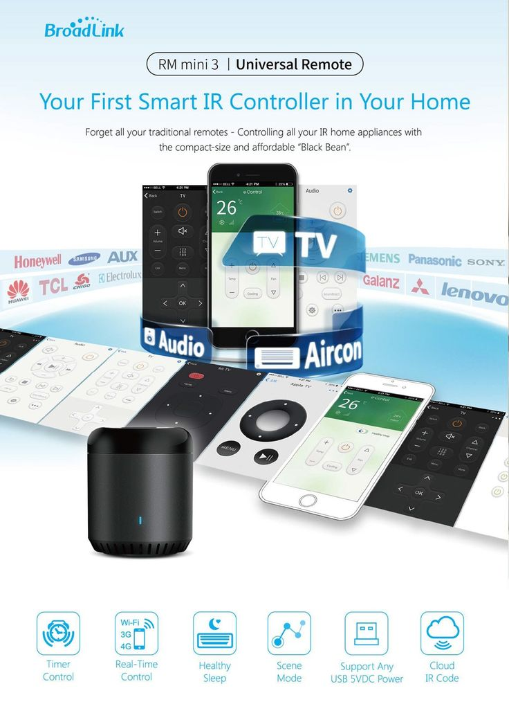 Original Broadlink RM Mini3 Universal Intelligent WiFi/IR/4G Wireless Remote Controller Via Phone Smart Home Automation , https://kitmybag.com/2017-new-original-broadlink-rm-mini3-universal-intelligent-wifiir4g-wireless-remote-controller-via-phone-smart-home-automation/ ,