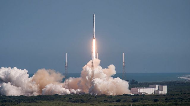 In yet another episode of 'What crazy idea is Elon Musk trying to disrupt the world with this week?,' the billionaire's space company has officially requested FCC permission to begin testing satellites for what could become a globe-spanning internet.
