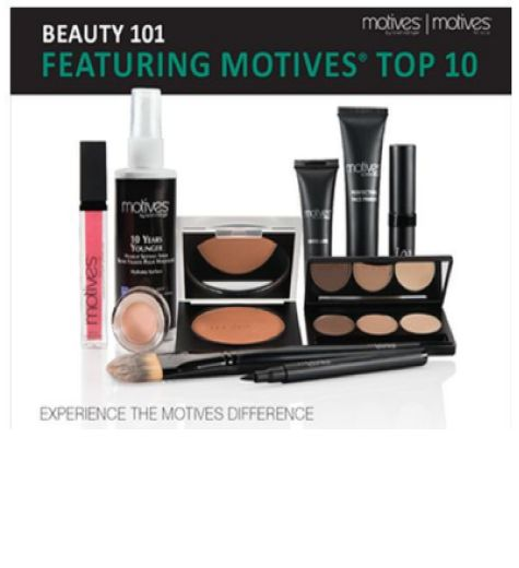 MOTIVES COSMETICS TOP TEN MUST-HAVES get it at shop.com/kristinacedrone