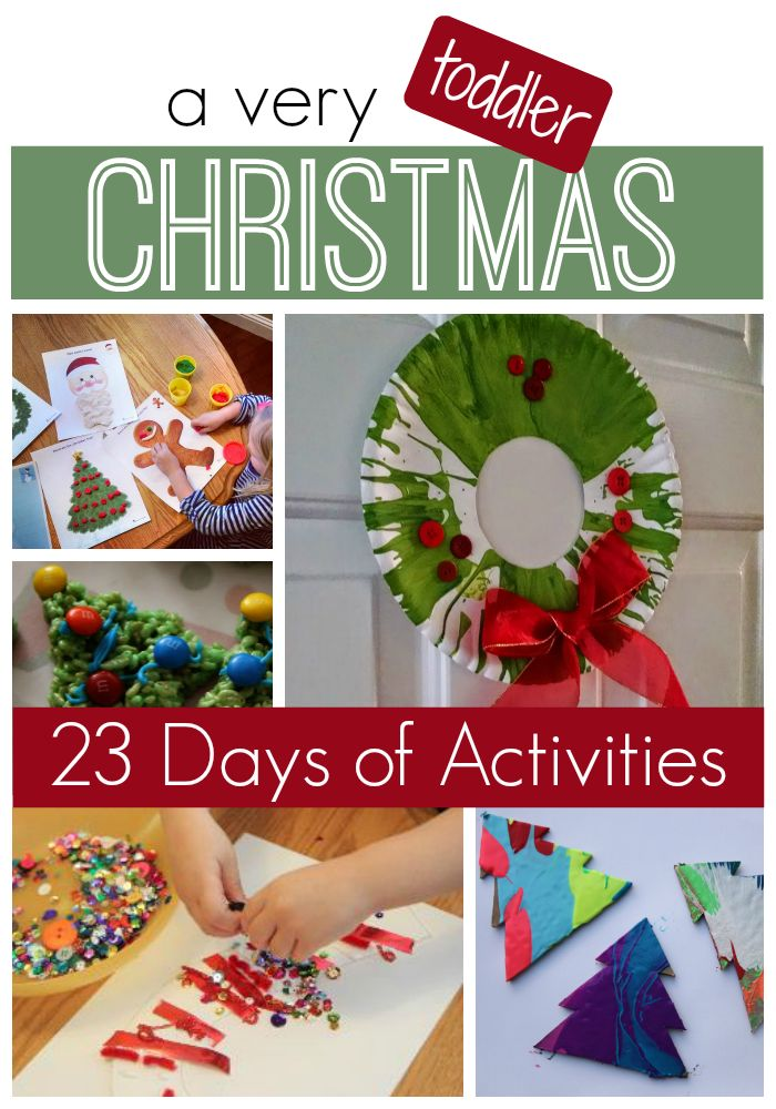 Toddler Approved!: A Very Toddler Christmas Series {23 Days of Activities} for 2015