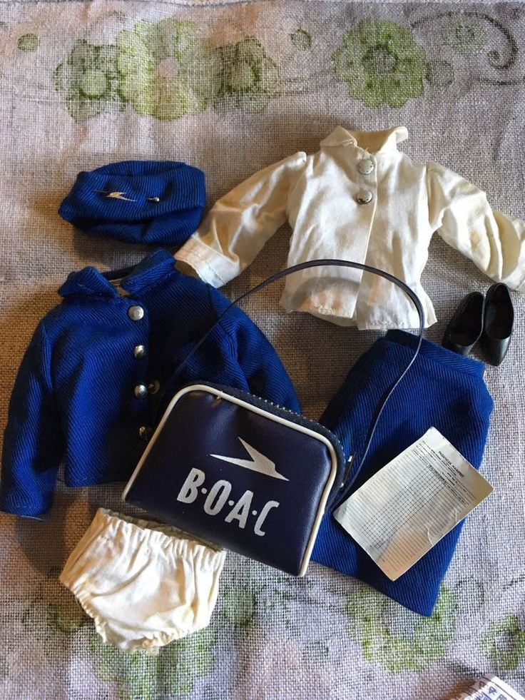 Vintage 1966 Sindy Doll Outfit ' Air Hostess ' Complete Rare in Dolls, Bears, Dolls, Barbie | eBay!