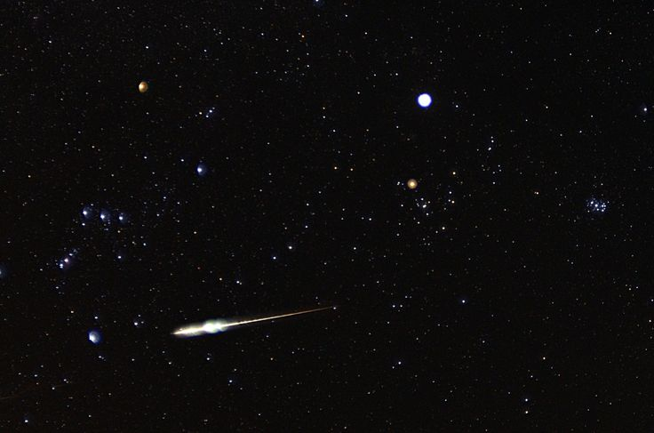 VISIBLE METEOR SHOWER DATES FOR 2015  meteor_Taurid_11-9-2012_Dale_Forrest_Boone_NC