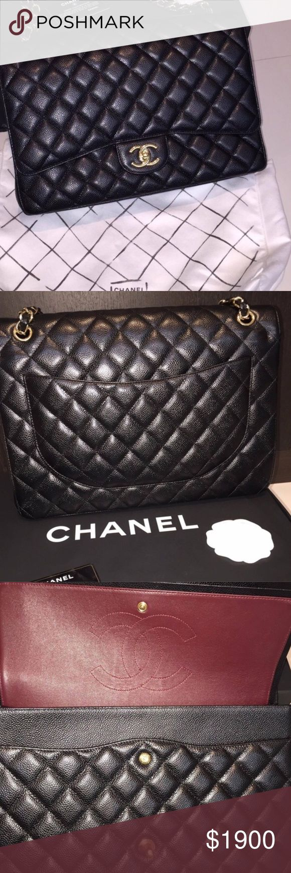 $1220💕Still Available 💕Chanel Double Flap Chanel Double Flap! PayPal only. Please message all questions, comments or inquiries to CanonEBags@aol.com ! I do not check comments here. If you aren't comfortable with PayPal I am sorry ! 💋💋💋 CHANEL Bags Shoulder Bags