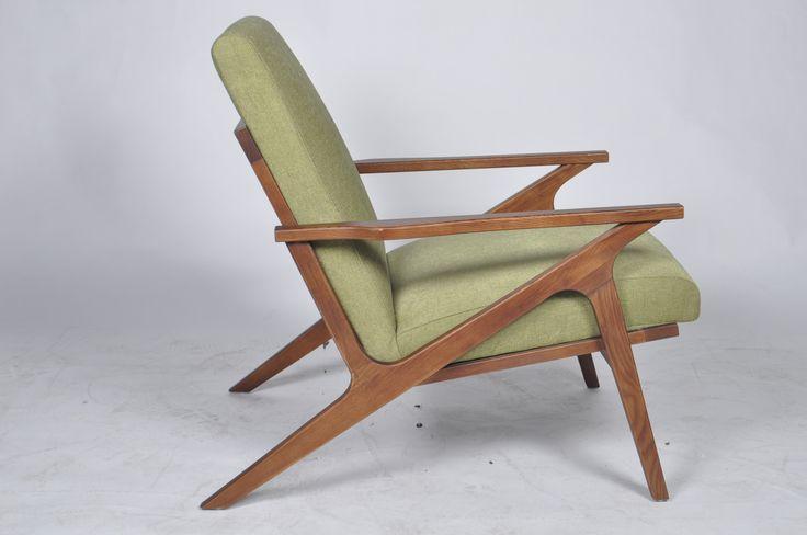 Birger Lounge Chair (Green)