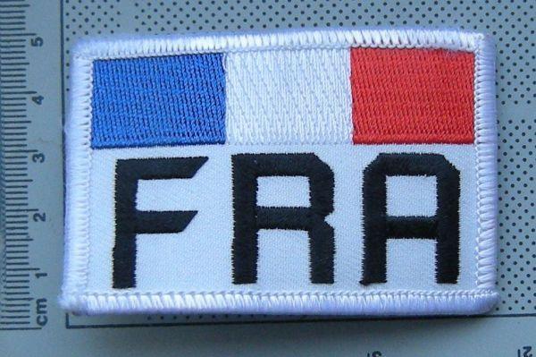 emblema brodata, drapel Franta