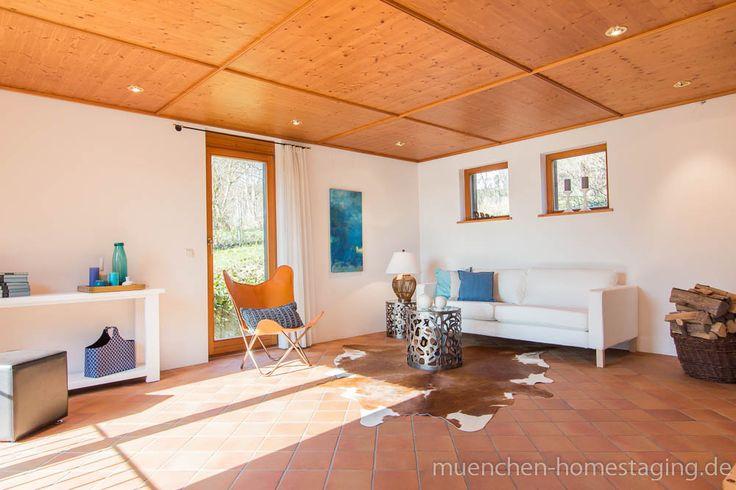 Home Staging: Frische Türkis- und Blautöne erwecken geerbte Immobilien aus ihrem Dornröschenschlaf.