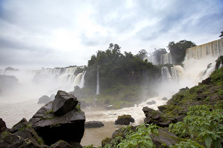 You'll hear the roar before you see it. The impressive Iguassu Falls in Argentina and Brazil has to be experienced to be believed.