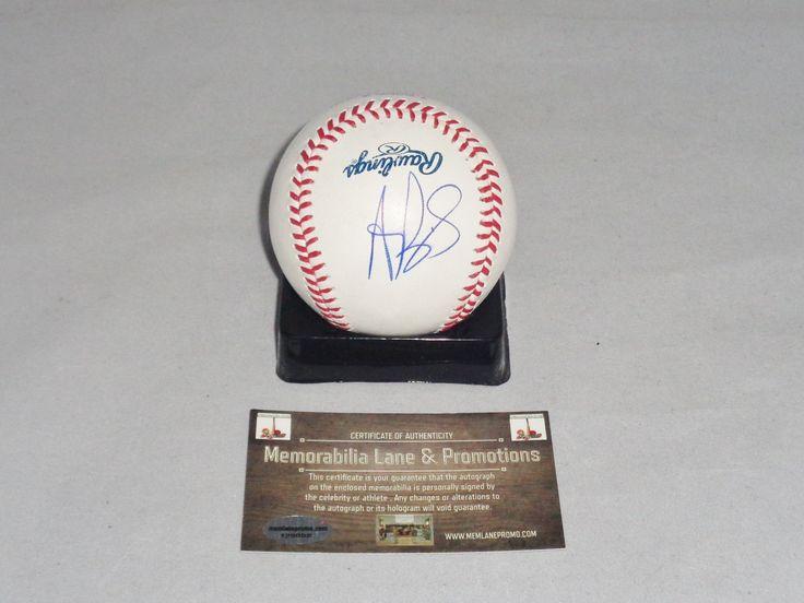 Albert Pujols ANGELS autograph baseball COA Memorabilia Lane & Promotions