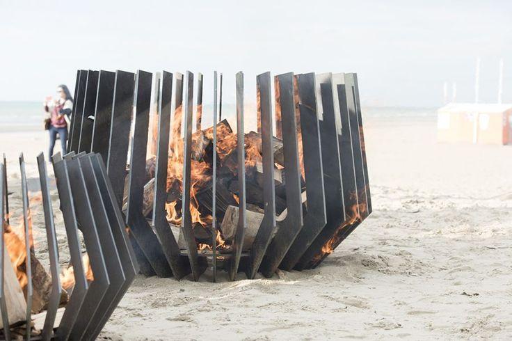 Brasero Anemone | Metalfire | #basileek #brasero #design