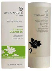 Living Nature Purifying Cleanser - voor de gecombineerde en acne huid!