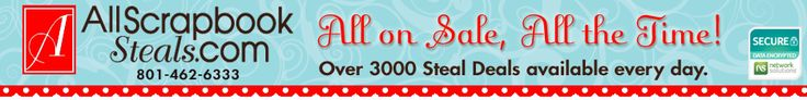 Online Scrapbook Store | Digital Scrapbooking, Wholesale Scrapbook Supplies, Gift Certificates & More! | All-Scrapbook-Steals.com