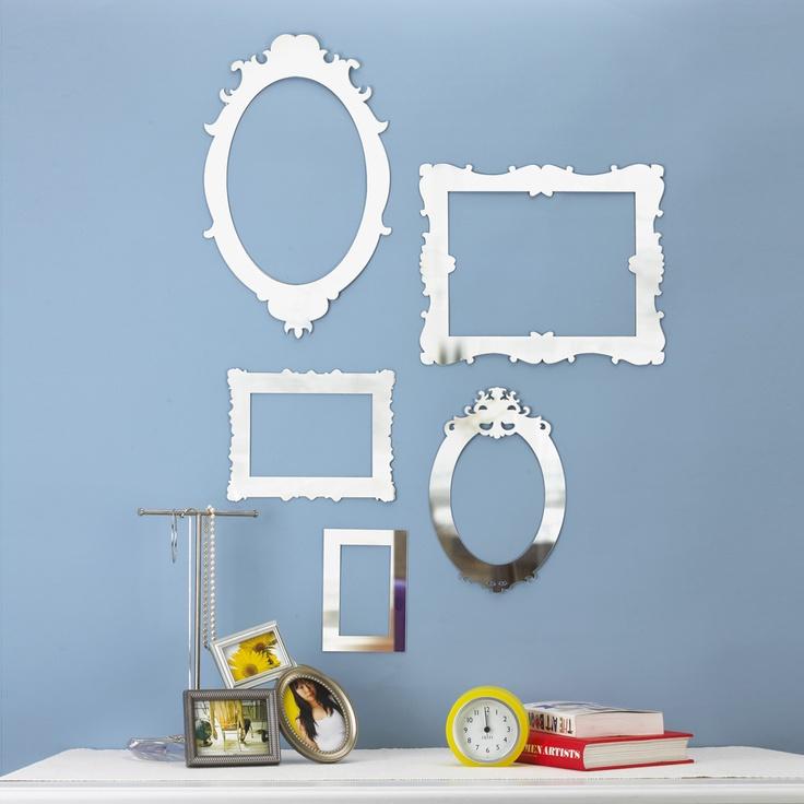 Umbra Frame Set of 5 Laser Cut Mirrors