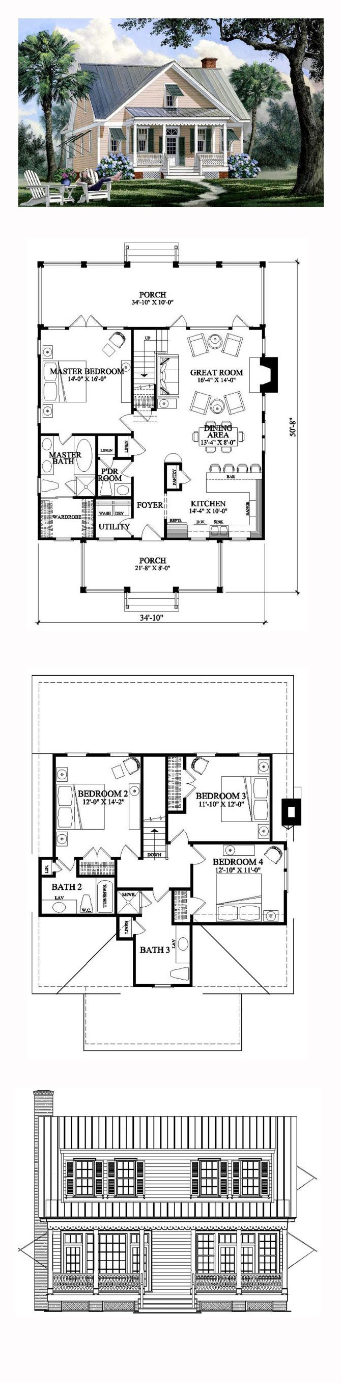 Best 25 lake house plans ideas on pinterest cottage for Lake house plans with garage