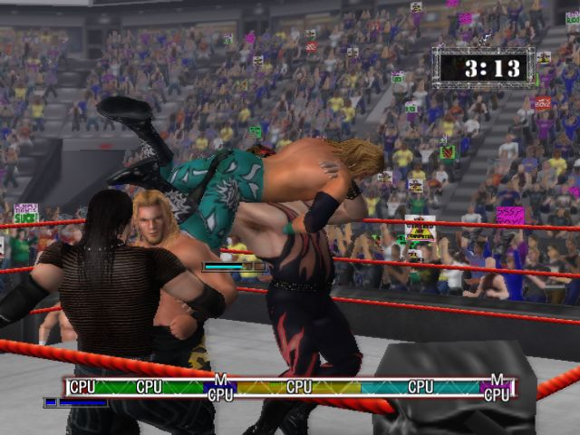 WWE RAW Game Screenshots