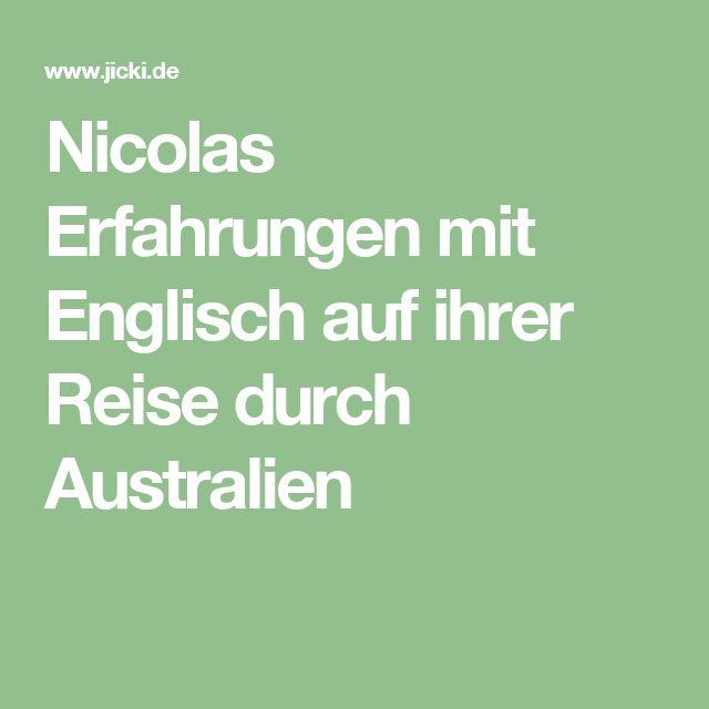 Erfahrungen Englisch