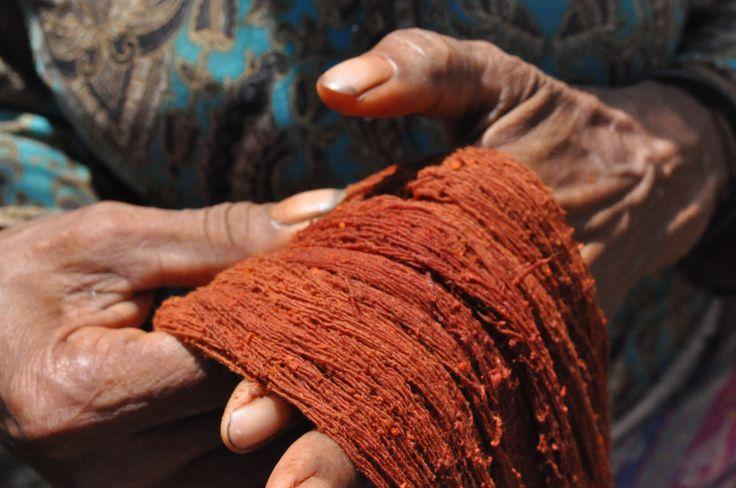 Amazing what a little mango bark can do! Weaving Fair Futures.