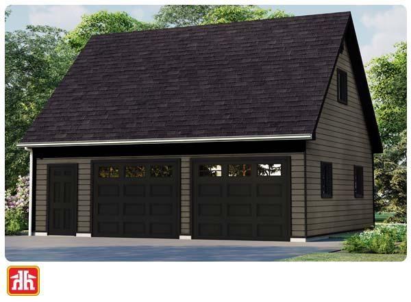 Loft Garage Package Packages, Garage Loft Plans Home Hardware