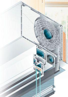 Persianas Rolaplus. Puertas y Ventanas de PVC con Aislamiento Acústico y Térmico en México