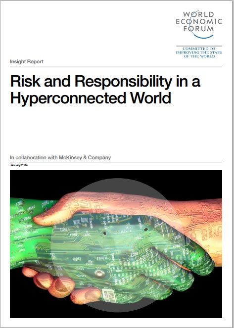As the new, shared digital space evolves, the collective imperative is to develop a common set of expectations to address systemic risks, and to define not only the roles but also the responsibilities of all participants in the cyber ecosystem. Read more in this World Economic Forum report published in January 2014.  #wef #weforum #digital