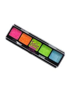 Jusice jewelry for girls | Piece Neon Glitter Eye Shadow | Make-up Kits | Beauty | Shop Justice