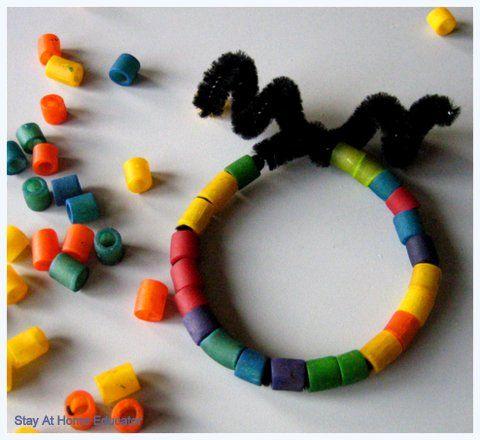 Friendship Bracelets...and week 11 of preschool co-op